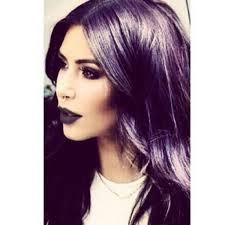 colored nose rings images Kim kardashian posts a goth selfie in a nose ring with purple hair jpg
