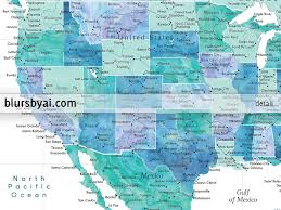Map Of Mexico And Usa by Printable Map Of The Usa Mexico And The Caribbean Sea In