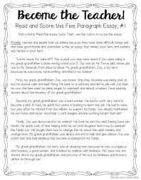 Samples Of Essay Introduction Paragraph Tips For Teaching And Grading Five Paragraph Essays