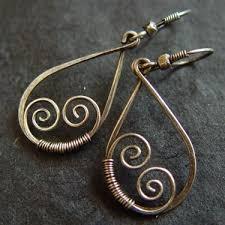 vire earrings 1264 best wire earrings images on diy jewelry jewelry