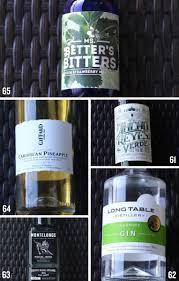 how to build a strong home bar one drink and five bottles at a