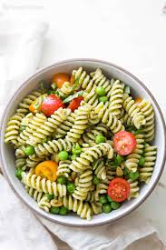 pesto pasta salad recipe simplyrecipes com