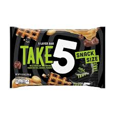 amazon com take5 snack size bars 11 25 ounce bag pack of 6