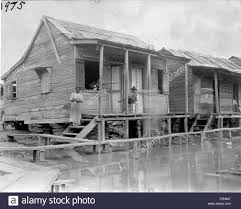 low country house on stilts stock photo royalty free image