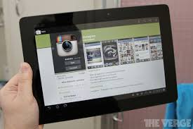 instagram for android instagram for android update adds tablet and wi fi device support