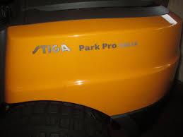 stiga park pro 340 ix allrad mähdeck park pro 110 el köppl gmbh
