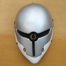 Metal Gear Halloween Costume Gray Fox Mask Ebay