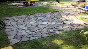 Easy Patio How To Build A Flagstone Patio In 3 Days