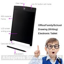 lcd writing tablet erase tablet electronic paperless lcd