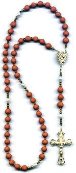 petal rosary handmade petal rosary