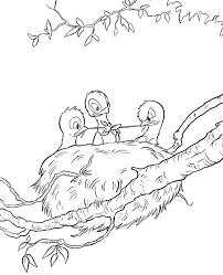 birds coloring pages 27 print color free
