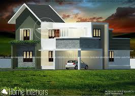 1800 Square Feet Square Feet 4 Bhk Contemporary Budget Home Design