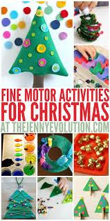 christmas fine motor activities motor activities evolution and