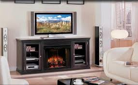 Entertainment Center With Electric Fireplace Electric Fireplace Media Center Logs U2013 Home Decor By Rnd