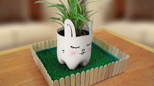 diy cute animal planters made of recycled plastic bottles u2013 the