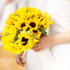 sunflower bouquet sunflower wedding bouquets