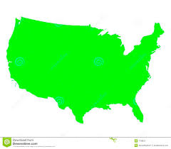 Blank Map Of The United States united states of america outline map royalty free stock