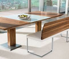 walnut dining table and bench dining table and benches sets