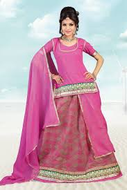 rajputi dress buy charming pink cotton jacquard rajputi poshak online