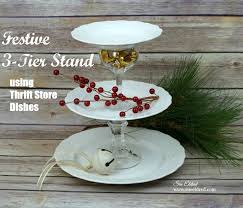 3 tier serving stand festive 3 tier serving stand sue s creative workshop