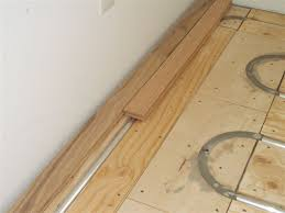thermofin u and pex tubing with hardwood flooring an in floor