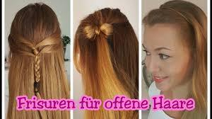 Einfache Frisuren Selber Machen Offene Haare by Schöne Frisuren Für Offene Haare