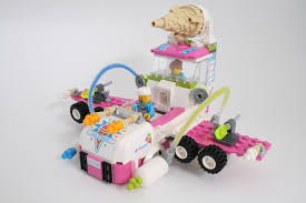 review 70804 ice cream machine rebrickable build with lego