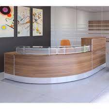 Rounded Reception Desk X Range Curved Reception Desk