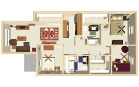 three bedroom floor plans bloomington apartments floor plans