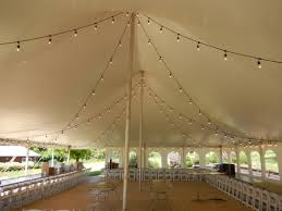 wedding tent lighting rent café lights edison light iowa wedding event lighting