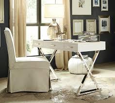ava glass display wood desk ava desk pottery barn desk ideas