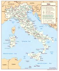Italian Map Italy Maps Perry Castañeda Map Collection Ut Library Online