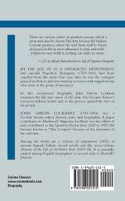 life of napoleon bonaparte emperor of france j g lockhart