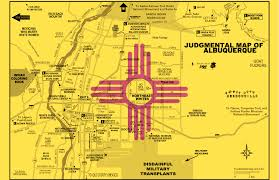Nm Map Judgmental Maps Albuquerque Nm 2 By Rusty Rutherford And Conrad