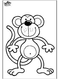 printable monkey coloring pages unique monkey coloring pages gallery colorings 697 unknown