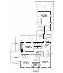 colonial style house plan 4 beds 4 baths 3893 sq ft plan 137
