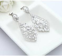 Cubic Zirconia Chandelier Earrings Chandelier Earrings Cubic Zirconia Chandelier Drop Dangle Earrings