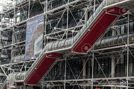 High Tech Houses by Paris Centre Georges Pompidou Was Designed In Style Of High Tech
