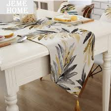 fabric for table runners wedding 2017 new modern table runner wedding party decoration american style