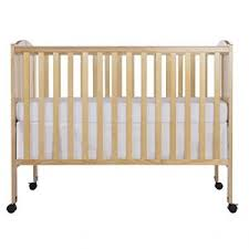 baby cache crib of dream on me full size 2 in 1 folding crib natural