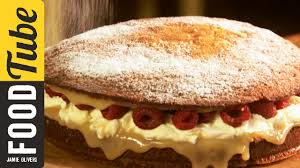 super simple sponge cake jamie oliver youtube