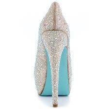 betsey johnson blue wedding shoes wish chage something blue by betsey johnson 169 99 free