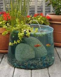 21 fascinating low budget diy mini ponds in a pot mini pond