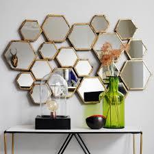 honeycomb mirror i u0027d set mine up like the chemical compounds for