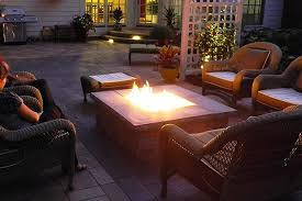 Patio Tables With Fire Pit Fire Pits And Tables Landscaping Outdoor Kitchens Outdoor Living