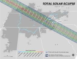 Map Of Loudoun County Tva Releases Map For Best Viewing Of August 21 Eclipse Marion