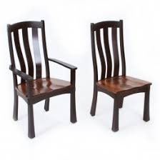 Lane Furniture Dining Room Amish Made Dining Room Chairs Sturdy Solid Wood Country Lane