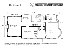 1 1 2 story floor plans cornell by westchester modular homes two story floorplan