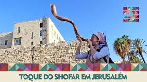 shofar from israel toque do shofar em jerusalém flashes em israel