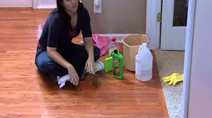 How To Clean Wood Laminate Floors With Vinegar Housekeeping Tips How To Fix Scratches On Hardwood Floors Youtube